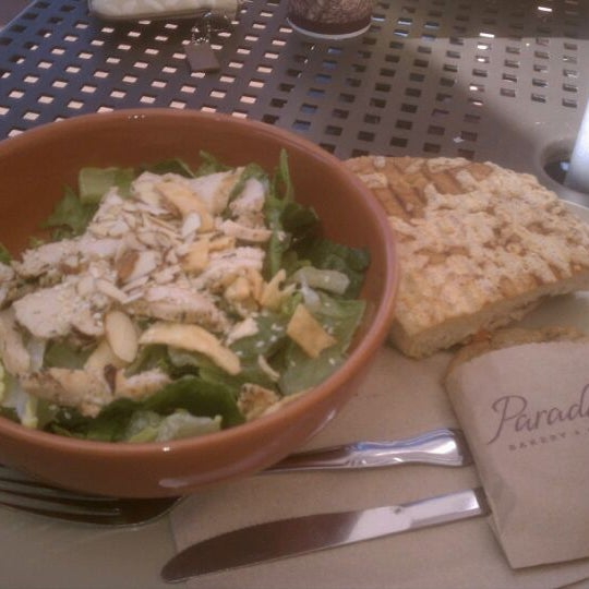 Photo taken at Panera Bread by Joseph P. on 2/10/2012