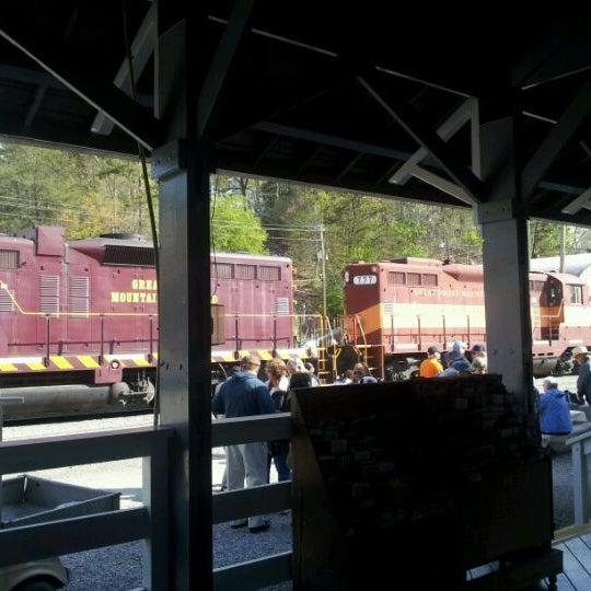 Photo taken at Great Smoky Mountain Railroad by Toni .. on 4/14/2012