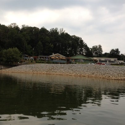 Photo taken at Fish Tales Lakeside Grille by Denise R. on 8/3/2012