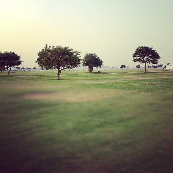 Photo taken at Aspire Park by Saoud A. on 6/16/2012