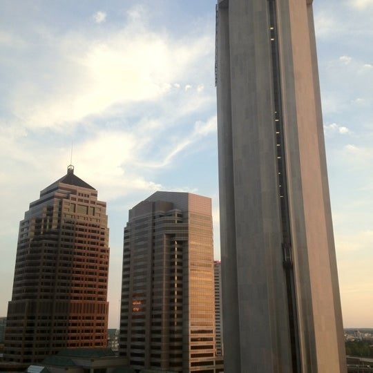 Photo taken at Hyatt Regency Columbus by John N. on 5/22/2012