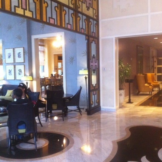 Beautiful lobby and a nice place to stay within walking distance to the convention center and the French Quarter. The staff was amazing and very helpful!