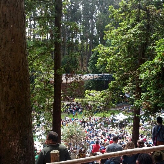 Photo taken at Sigmund Stern Grove by Scott S. on 8/26/2012