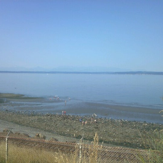 Photo taken at Carkeek Park by Joe S. on 8/17/2012