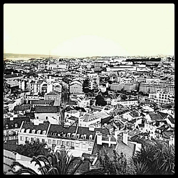 Photo taken at Miradouro da Graça by Flip B. on 5/26/2012