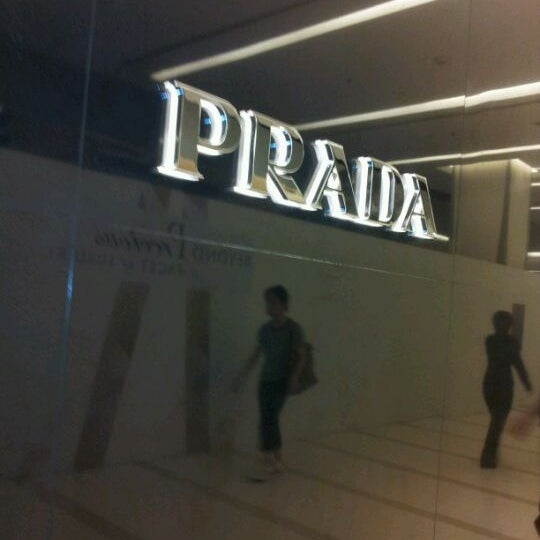 Photo taken at Prada by Cherry D. on 5/7/2012