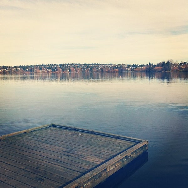 Photo taken at Green Lake Boathouse by Alicia L. on 2/5/2012