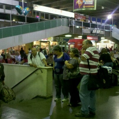 Photo taken at Terminal Rodoviário Governador Israel Pinheiro by Rachel C. on 9/5/2012