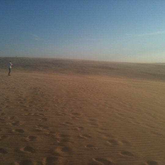 Photo taken at Jockey's Ridge State Park by Olympia L. on 4/14/2012