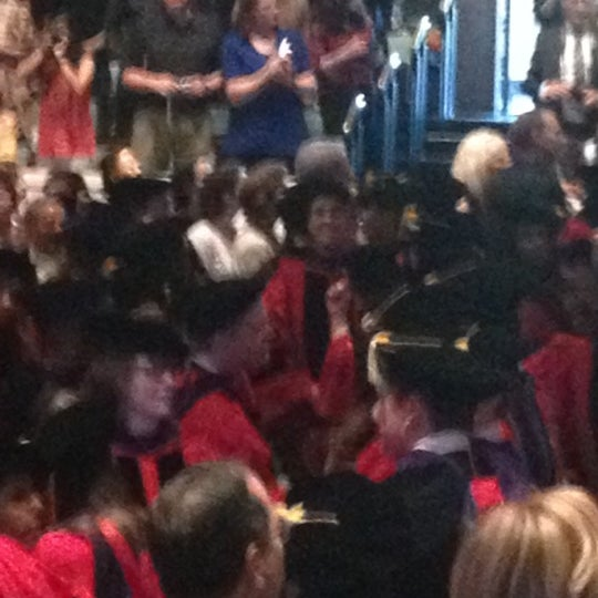 Photo taken at Bailey Hall by Jen W. on 5/13/2012