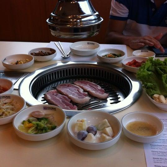 Photo taken at Daorae Korean BBQ Restaurant by Fonniez S. on 7/14/2012