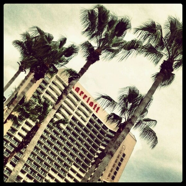 Photo taken at Marriott World Center Pool by Al S. on 4/29/2012