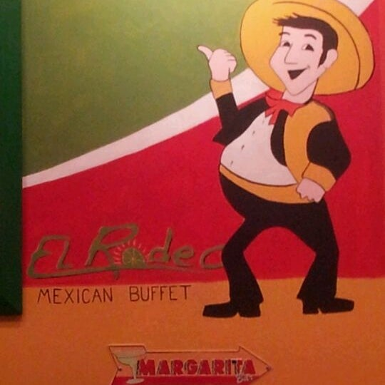 Photo taken at El Rodeo Mexican Bar & Grill by Derrick W. on 2/4/2012