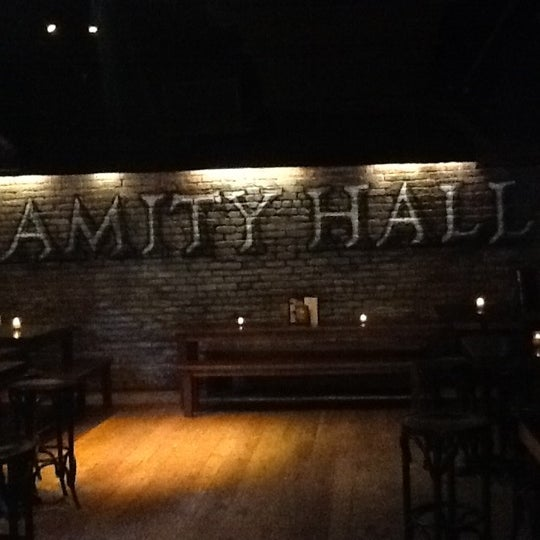 Photo taken at Amity Hall by Kimistry E. on 3/19/2012