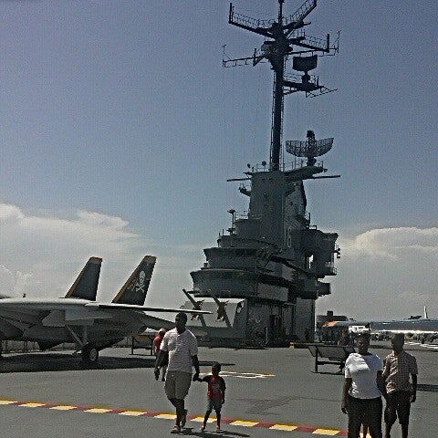 Photo taken at USS Lexington Museum On The Bay by Chad B. on 7/5/2012