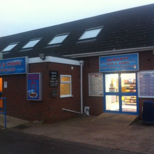 Newcott services fish chips chester road for Fish store austin