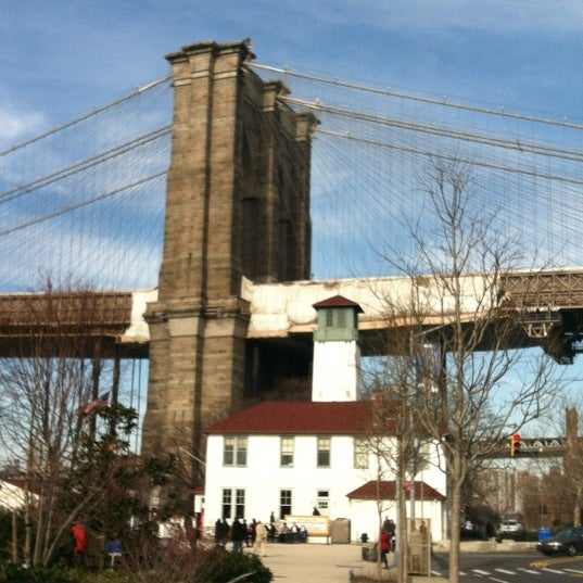 Photo taken at Brooklyn Bridge Park - Pier 6 by Melinda Rivera 💋 on 2/19/2012