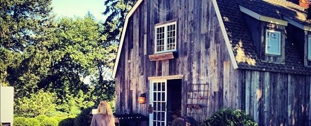 Photo taken at Sherwood House Tasting Room by Sloane B. on 9/15/2012