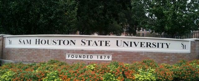 Photo taken at Sam Houston State University by Dhwani C. on 9/16/2012