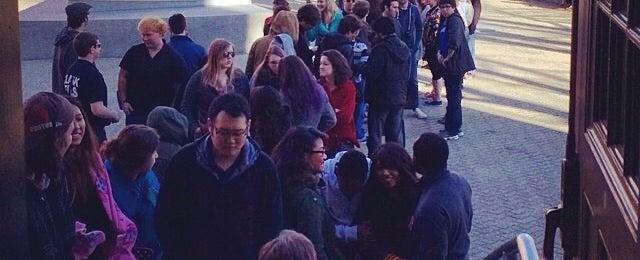 Photo taken at Clark University - Atwood Hall by Dawson I. on 4/9/2014