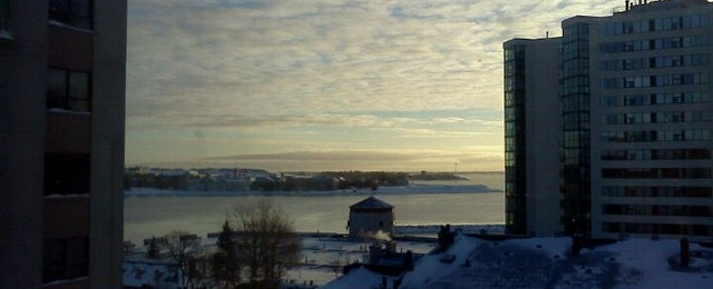 Photo taken at Four Points by Sheraton Kingston by Paul S. on 12/28/2012