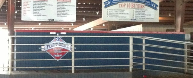 Photo taken at Fort Bend County Fairgrounds by David F. on 3/23/2013