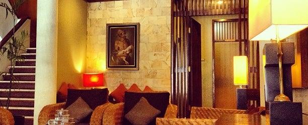 Photo taken at Tirtagangga Hotel by Rika H. on 1/6/2013