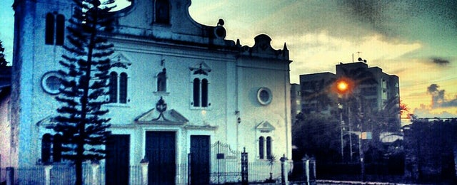 Photo taken at Igreja da Varzea by Daniel F. on 5/4/2013