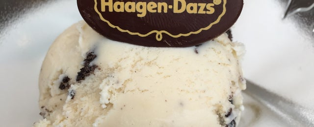 Photo taken at Häagen-Dazs by Rastislav V. on 5/18/2015