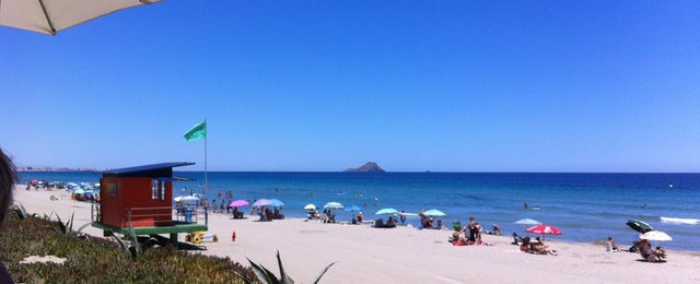 Photo taken at Playa del Tabal_La Manga by Guillaume L. on 7/29/2013