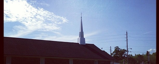 Photo taken at Normandy Park Baptist by Brenda on 4/9/2013