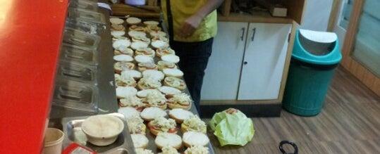 Photo taken at New Poona Bakery by Nikhil N. on 11/26/2012