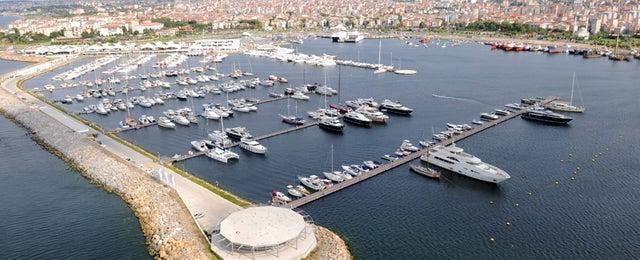 Photo taken at MarinTurk İstanbul City Port by Mustafa Ç. on 8/14/2012