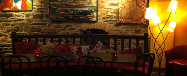 Photo taken at Le Bacchus by Cecile P. R. on 10/20/2012