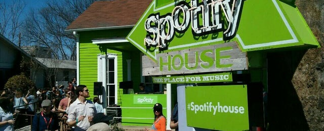 Photo taken at Spotify House by James J. on 3/11/2013
