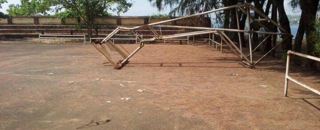 Photo taken at Youth Hostel, Miramar by Brian C. on 12/8/2012