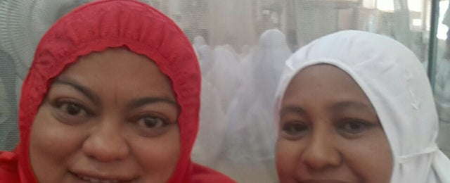 Photo taken at Masjid Al-Khasyi'in by Zauyah Z. on 6/29/2014