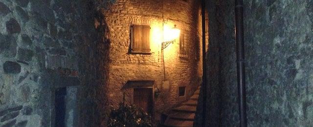 Photo taken at Castello di Pontremoli by Sara C. on 8/20/2013