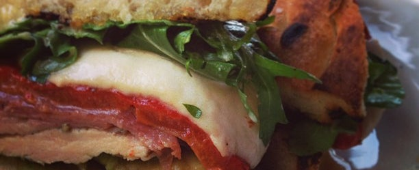 Photo taken at Bottega Restaurant by Foodimentary on 5/21/2013