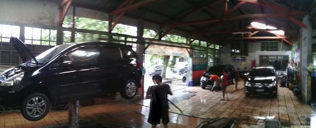 Photo taken at Strike Car Wash by Reza K. on 1/3/2014