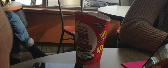 Photo taken at Tim Hortons by Stephen S. on 2/18/2013