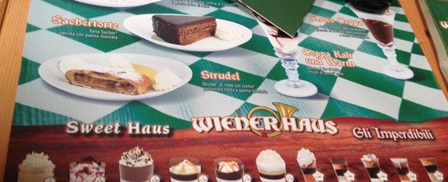 Photo taken at Wiener Haus by Enrica on 7/16/2014