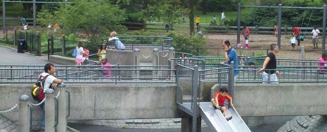 Photo taken at Central Park - Heckscher Playground by Herb B. on 8/18/2012