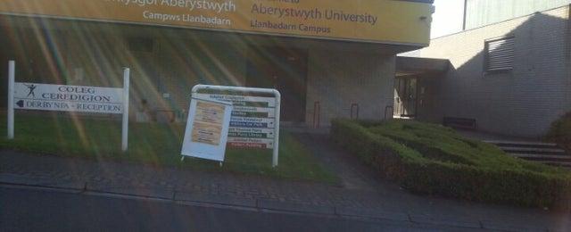 Photo taken at Llanbadarn Campus, Aberystwyth University by Fazy A. on 5/16/2013