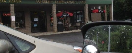 Das Foto wurde bei Goldberg's Bagels von Where's J. am 7/26/2012 aufgenommen