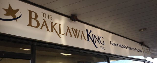 Photo taken at The Baklawa King by Jeanne M. on 12/24/2011
