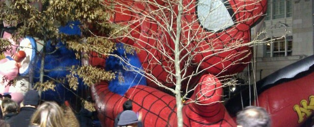 Photo taken at Macy's Parade Balloon Inflation 2012 by Thecrotch M. on 11/24/2011