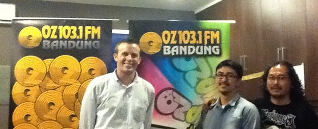 Photo taken at 103.1 FM - OZ Radio Bandung by U.S. Embassy J. on 9/30/2011