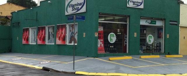 Photo taken at Vitaminar Shop by Michael B. on 4/21/2012