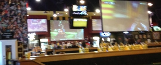 Photo taken at Buffalo Wild Wings by John R. on 4/24/2012